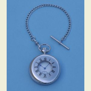 Dalvey Half Hunter Pocket Watch with Mechanical Movement