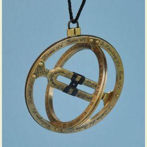 Kala Sunwatch Brass Pocket Sundial
