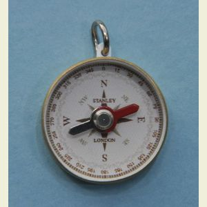 Solid Brass Sea Scout Pocket Compass