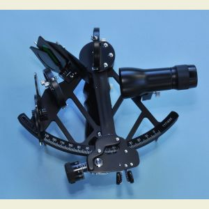 Stanley London Mark 3 Sextant with Scope and Case