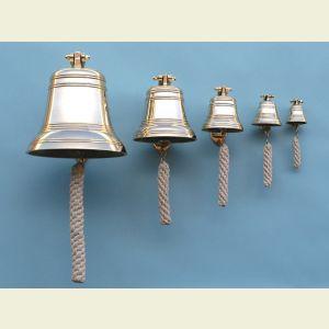 Twelve Inch Diameter Brass Ship's Bell