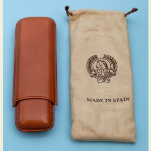 Brown Leather Cigar Holder