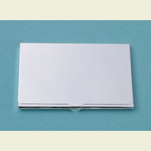 Slim Nickel Plated Card Case
