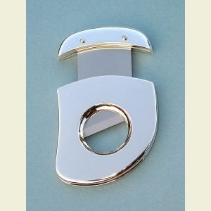 Silver Plated Cigar Cutters