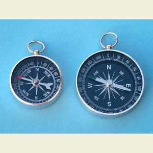 Open Face Aluminum Pocket Compass