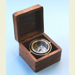 Engravable Miniature Boxed Compass
