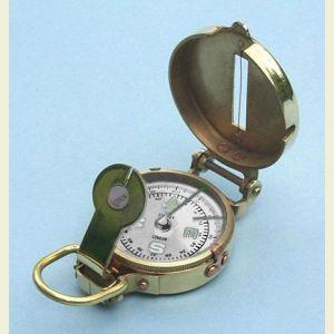 Brass Military Lensatic Compass