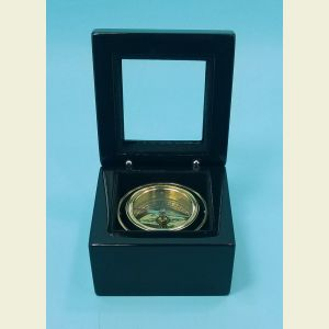 Executive Miniature Boxed Compass with Black Piano Finish