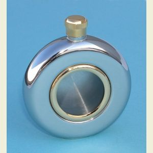 5 ounce Stainless Steel Window Flask