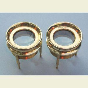 Small Brass 3-Leg Magnifier