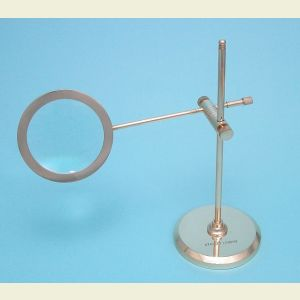 Polished Brass Stand Magnifier