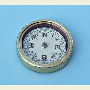 Open Face Paperweight Compass