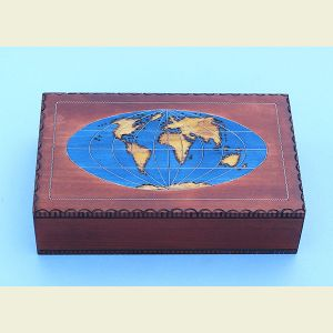 World Map Chartography Box