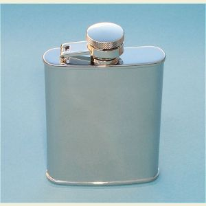 Engravable Stainless Steel 3 ounce Hip Flask