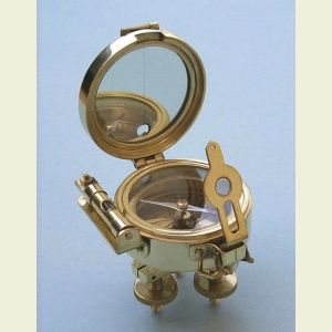 Brass Stand Surveying Compass