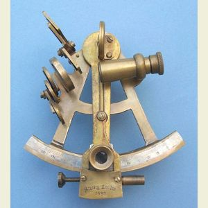 Four-inch Sextant with Antique Finish