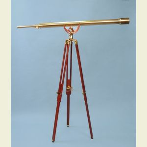 55-inch Harbormaster Telescope on Mahogany Tripod