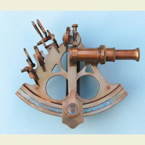 Engravable Titanic Limited Edition 6-inch Brass Sextant