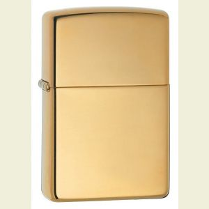 Zippo Solid Brass Lighter