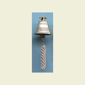 Three Inch Diameter Brass Ship's Bell