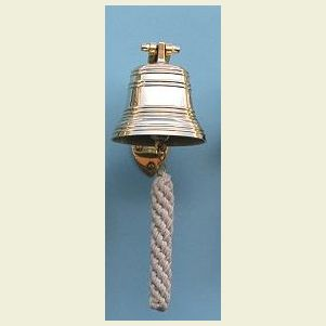 Four Inch Diameter Brass Ship's Bell