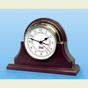 Solid Mahogany Base for Endurance Time and Tide Clock