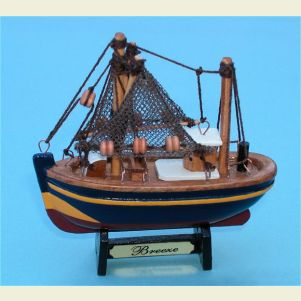 Breeze Fishing Trawler Mini Ships Model and Refrig. Magnet