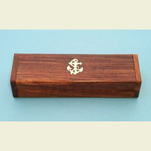 Engravable Hardwood Case for Boatswain's Pipe