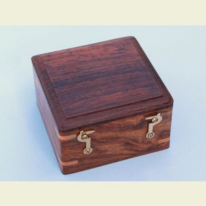 Hardwood Case for Box Sextant