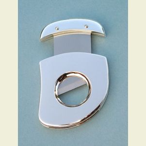 Silver Plated Cigar Cutter