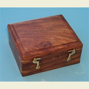 Hardwood Case for Miner's Compass