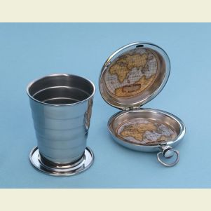 Engravable Dalvey Pocket Collapsible Drinking Cup