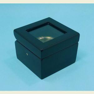 Executive Piano Finish Miniature Gimbaled Boxed Compass