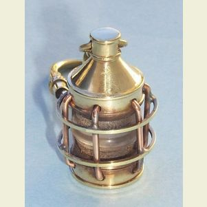 Brass Lantern Christmas Ornament