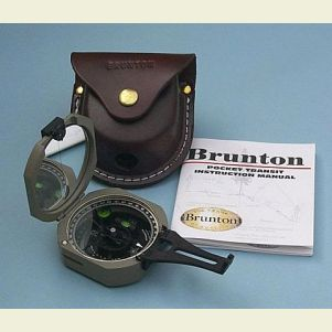 F5006LM Brunton Pocket Transit with Case