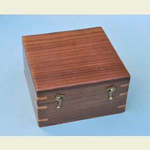 Engravable Hardwood Case for 4-inch Sextant