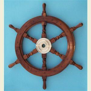 24-inch Diameter Ship's Wheel