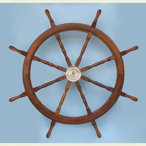 48-inch Diameter Ship's Wheel
